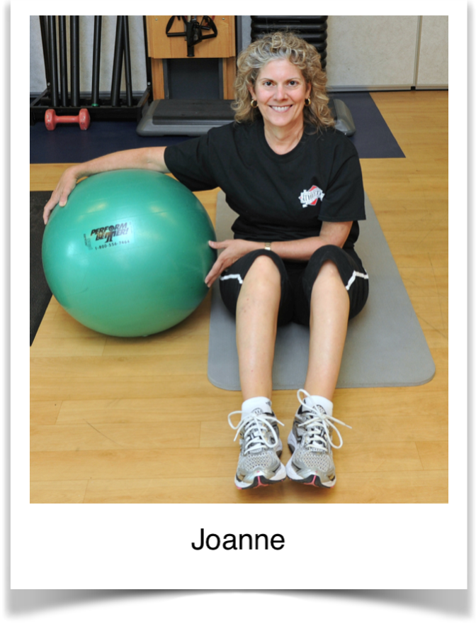Joanne, Blaser Physical Therapy Client