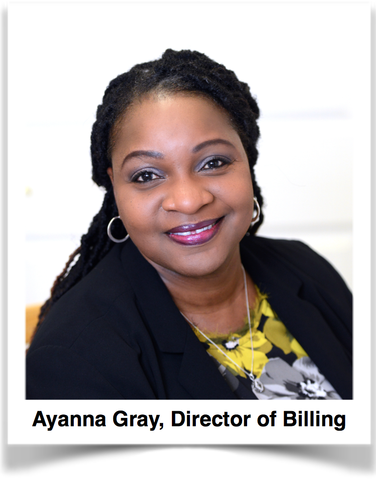 Ayanna Gray, Director of Billing